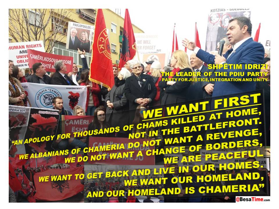 "WE WANT FIRST ""AN APOLOGY FOR THOUSANDS OF CHAMS KILLED AT HOME, NOT IN THE BATTLEFRONT"