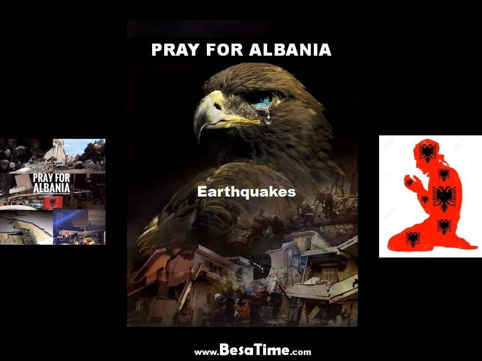 PRAY FOR ALBANIA