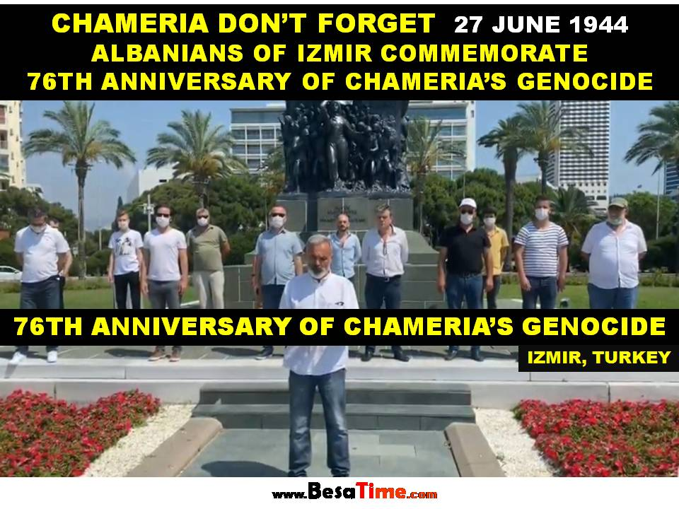76TH ANNIVERSARY OF CHAMERIA'S GENOCIDE IN IZMIR│IBRAHIM TOPAL