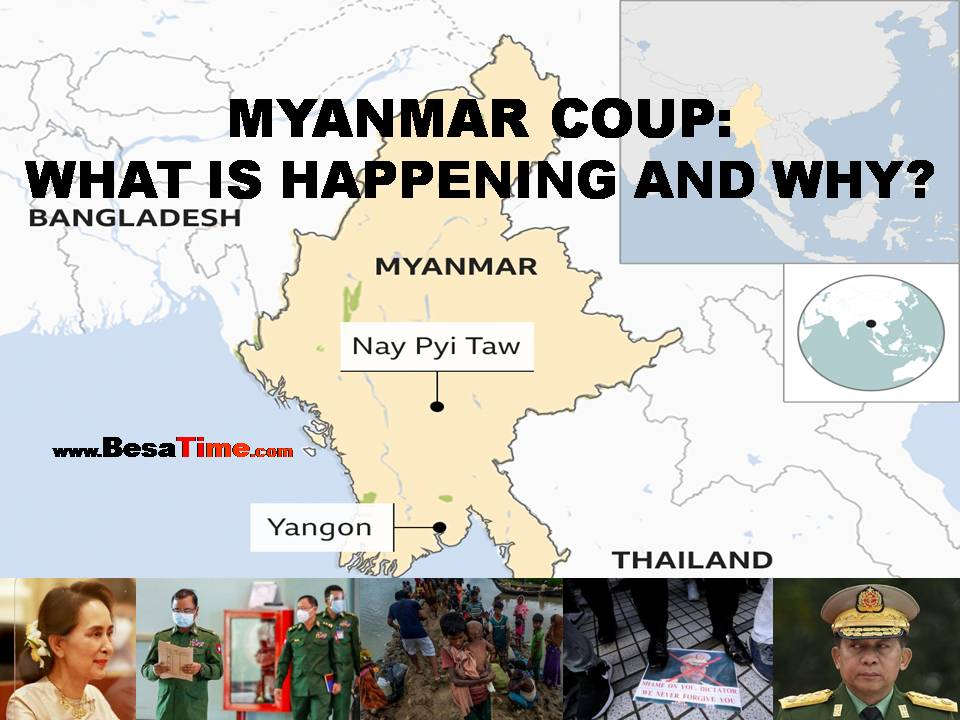MYANMAR COUP: WHAT IS HAPPENING AND WHY? By Alice CUDDY