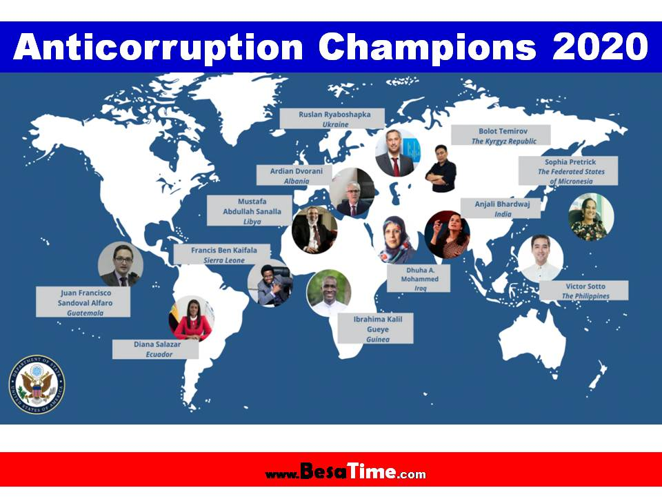 2020 ANTICORRUPTION CHAMPIONS